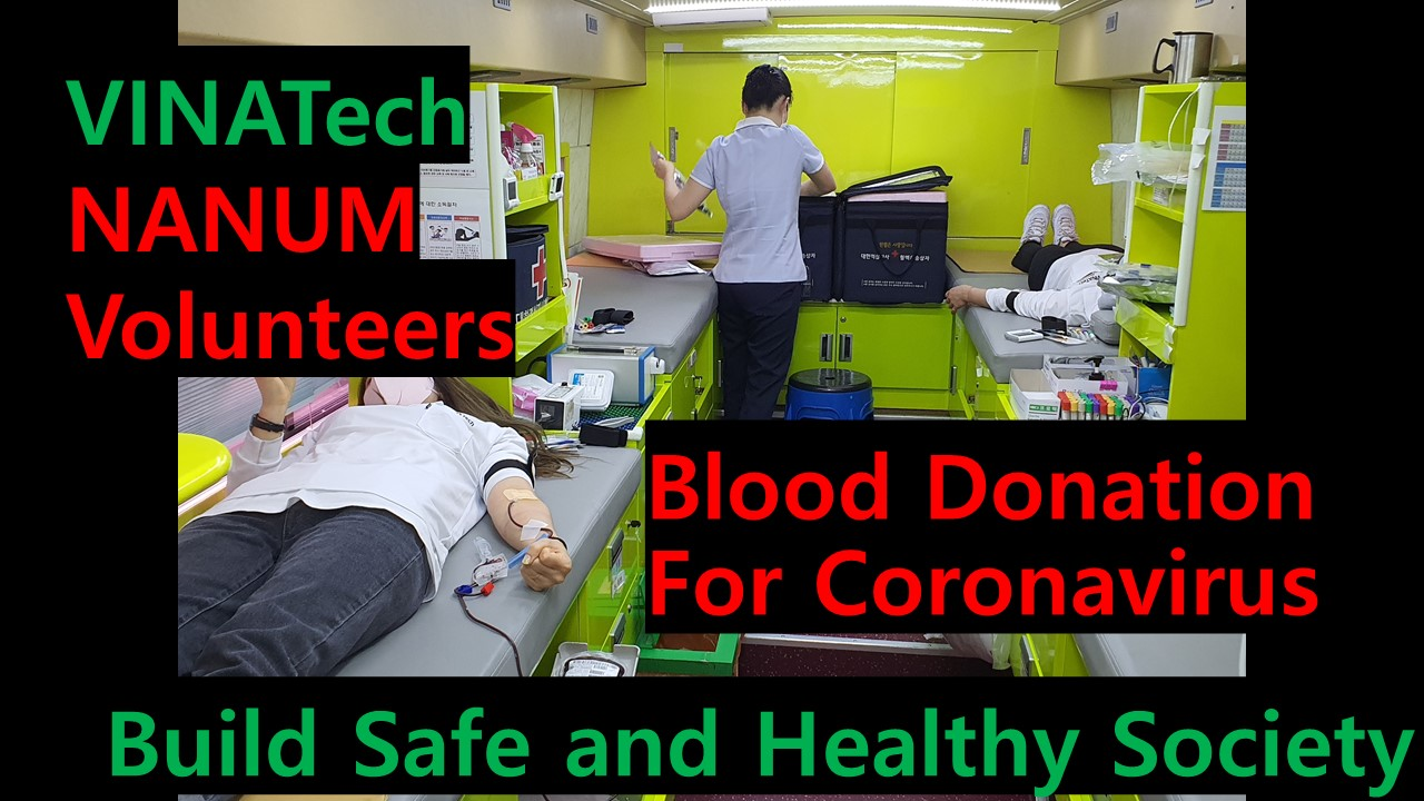 Responding to COVID-19, VINATech Participate in Blood Donation